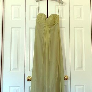 Melissa Sweet Bridesmaid Dress- light green